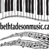 Piano Lessons, Music Lessons with Beth Tadeson.