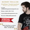 Acoustic Guitar Lessons, Electric Guitar Lessons, Music Lessons with Robby Miller.