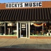Electric Guitar Lessons, Acoustic Guitar Lessons, Bass Guitar Lessons, Piano Lessons, Banjo Lessons, Violin Lessons, Music Lessons with Rockys Music.