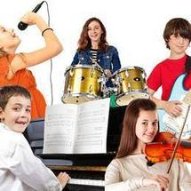 Piano Lessons, Acoustic Guitar Lessons, Electric Guitar Lessons, Drums Lessons, Voice Lessons, Violin Lessons, Music Lessons with Conway Institute of Music.